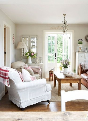 french country living room
