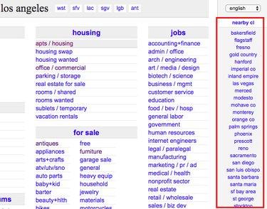 Craigslist search