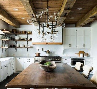 Italian style kitchen by Leanne Ford Interiors