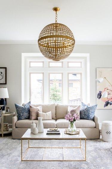 living room pendant