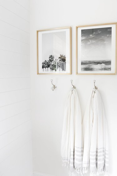 bathroom wall mounted art
