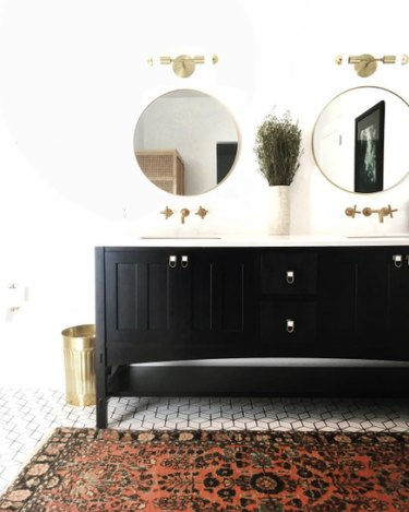 This Bathroom Color Trend Is Probably One You Saw Coming