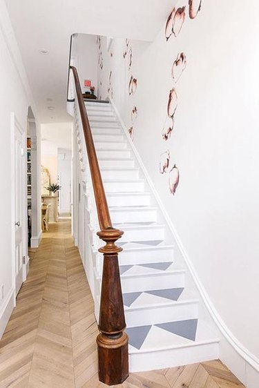 painted staircase