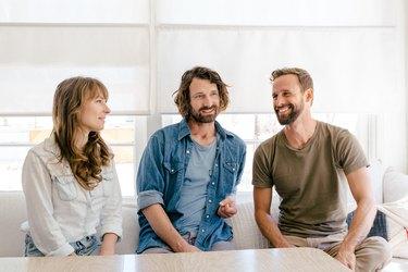 Joseph August, Justine Bennett and Andrew Uhlhorn