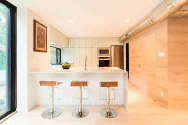 kitchen indoor/outdoor space