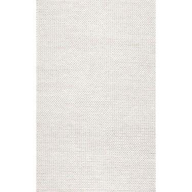 Handmade Braided Wool Rug