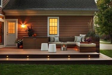 hardscape materials faux-wood composite decking