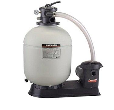 A Hayward pool pump.