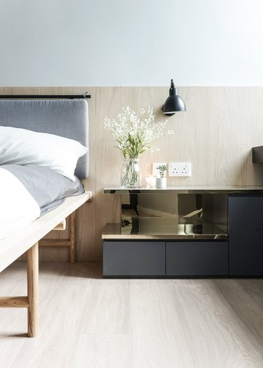 Japanese minimalist bedroom