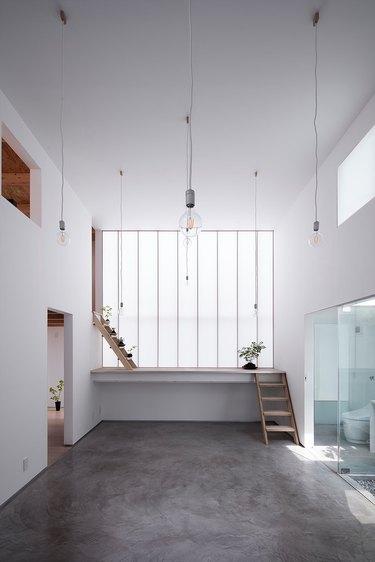 Japanese minimalist living room