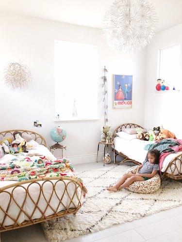 shared girls bedroom