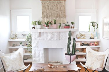 A Beautiful Mess Living Room Makeover