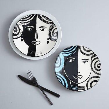 Fairy Tale Salad Plates