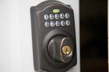 Shlage keyless entry.