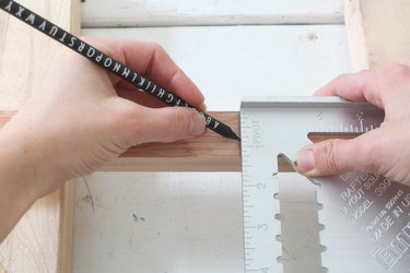 Marking baluster cut lines