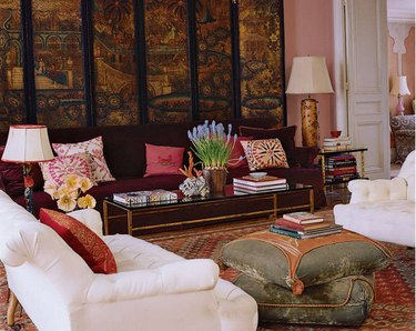 1990s decor  trends oriental screens