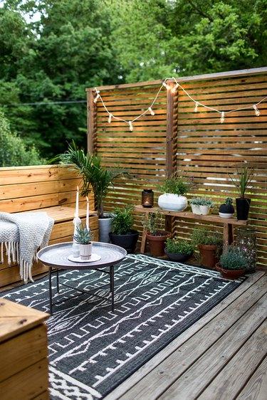 patio tray table