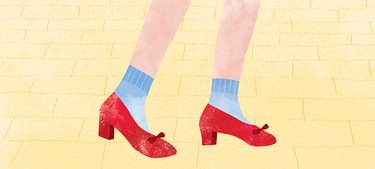 Dorothy red slippers