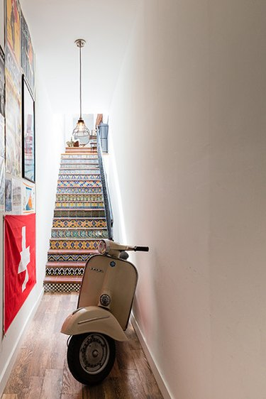 printed stairs