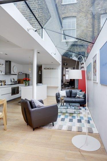 window roof living room