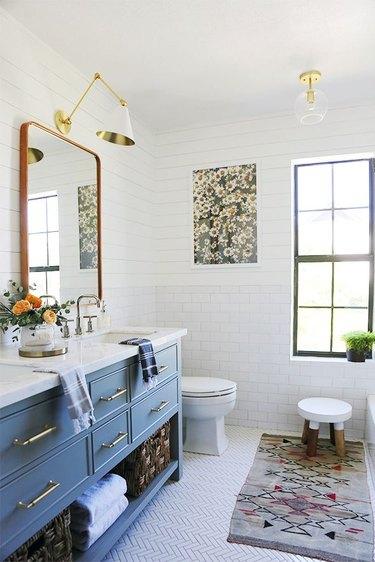 white flooring