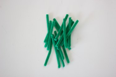 Small pieces of chenille