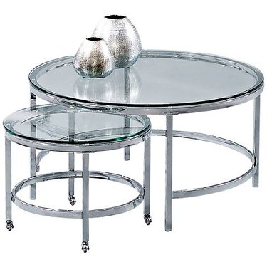 Glass nesting tables
