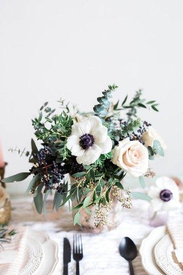 Christmas floral arrangment