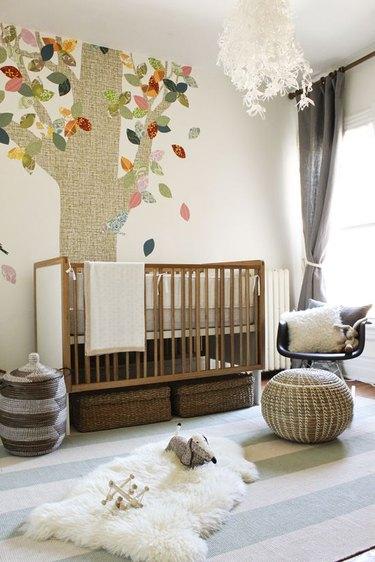 earthy themed nursery