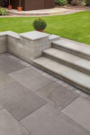 solid stone hardscape materials natural paving granite stones