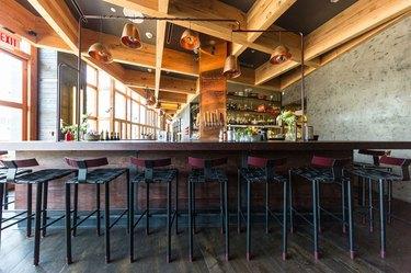Seated bar area