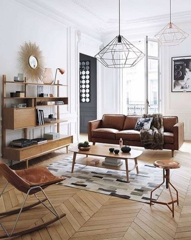 Follow This Living Room's Example to Make a Neutral Color Palette Dynamic