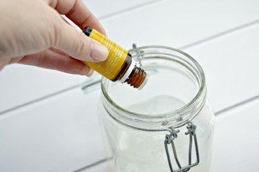 Add essential oils.