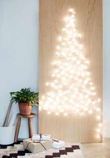 christmas tree alternative light tree