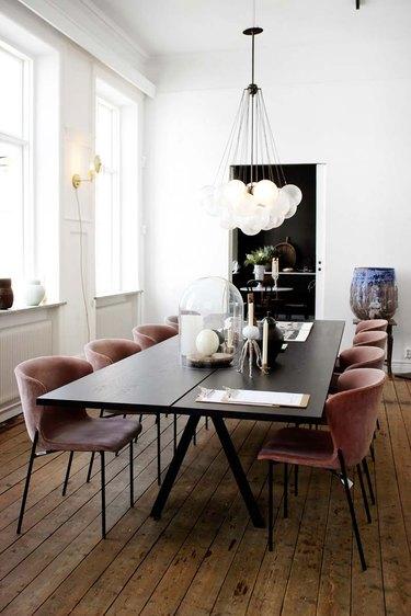 dining room lighting