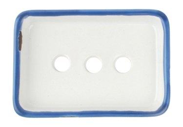 tin soap dish