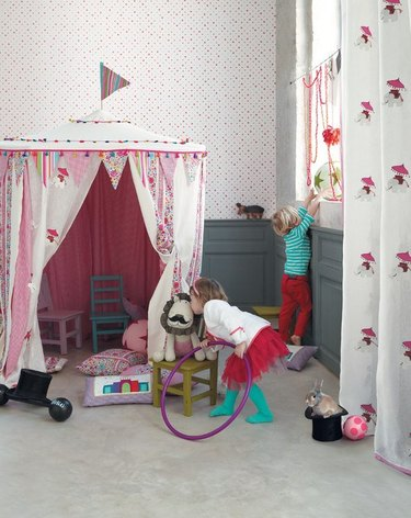 playroom fort