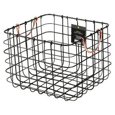 Target wire basket.