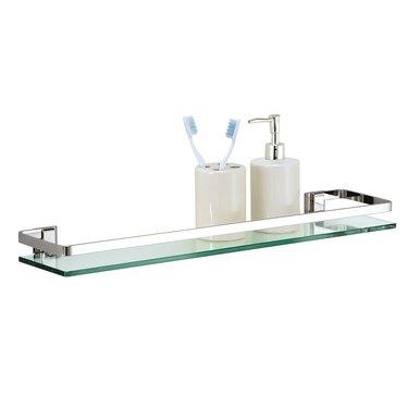 Kohl's Glass Bathroom Shelf
