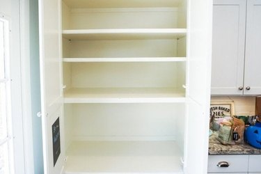 How to Organize a Pantry with clean slate empty pantry