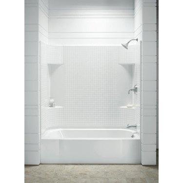 Sterling Accord Bathtub Wall Set