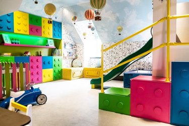 playroom slide