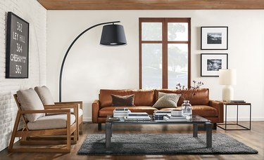 room and board arc lamp