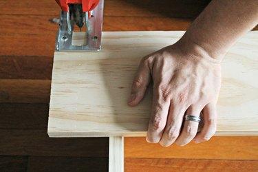 cutting your base board