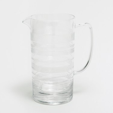 Transparent Acrylic Jug