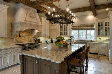 tuscan style italian kitchen