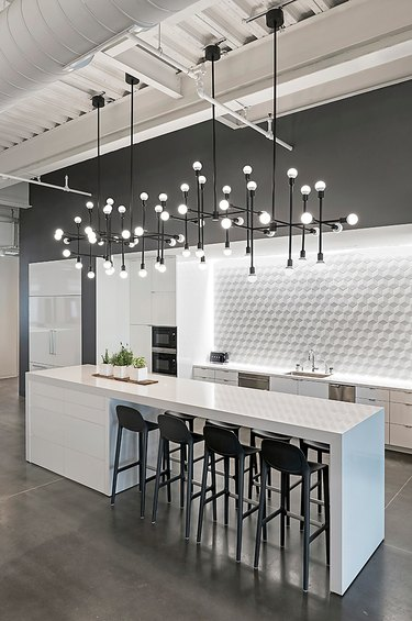 bold kitchen light