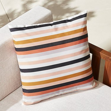 La Mer Rose Outdoor Pillow