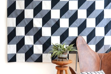 How to Make a Modern Geometric Quilt