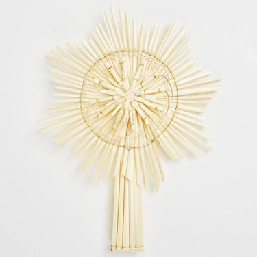 abc home straw tree topper